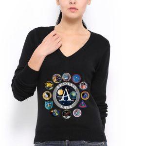 Apollo Missions Patch Badge Nasa American Circle Logo hoodie 2