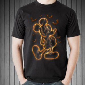 Awesome Disney Halloween Bat Thunder Mickey Mouse shirt