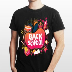 Back To Shool for Kids and Teacher 4 shirt