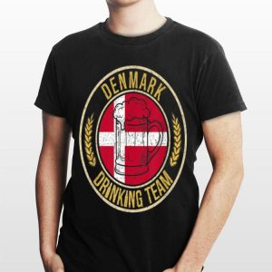 Beer Denmark Drinking Team Casual shirt