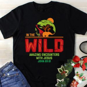 Best price Animal In The Wild Amazing Encounters With Jesus shirt