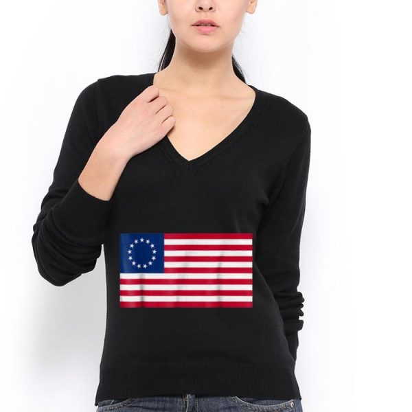 Betsy Ross Old Glory USA Flag Idepedndence Day 4th July hoodie