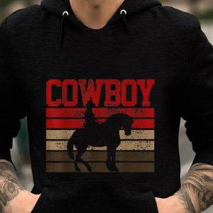 Cowboy Rodeo Horse guy tee