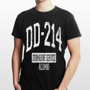 Dd 214 Submarine Service Alumni Vintage shirt
