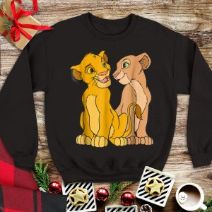 Disney The Lion King Young Simba and Nala Together tank top