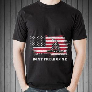 Don't Treat On Me Snake American Flag sweater