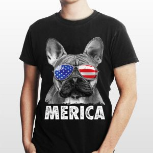 French Bulldog 4Th Of July Merica Men Women Usa Flag shirt