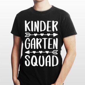 Kindergarten Squad Back To School shirt
