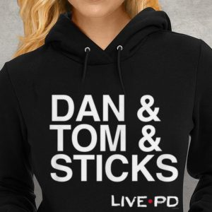 Live PD Dan And Tom And Sticks Youth tee