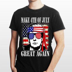 Make 4th of July Great Again Trump Men Women shirt
