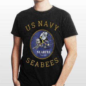 Navy Seabees Us Military Vintage shirt
