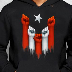 Nice Trend Puerto Rico Power of the people United fist shirt