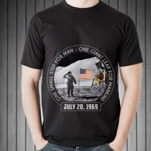 One Small Step For Man One Giant Leap For Mankind Austranaut American Flag hoodie