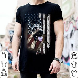 Patriotic German Shepherd Dog 4Th Of July Usa American Flag shirt