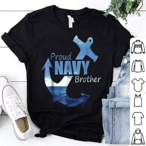 Proud Navy Brother Best Us Army Coming Home shirt