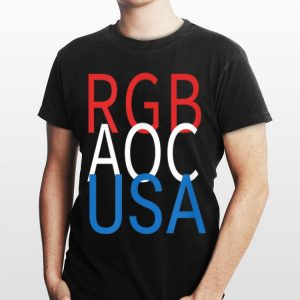 Rgb Aoc Usa Women In Politics shirt