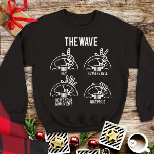 The Wave Jeep tank top