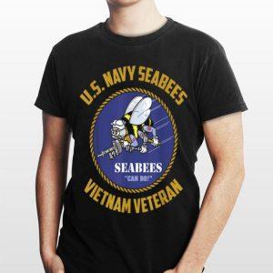 Us Navy Seabees Vietnam Veteran shirt
