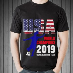 Usa Flag World Champions 2019 Womens Soccer Team hoodie