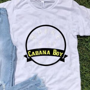 Where Is My Cabana Boy With Martini Glass sweater