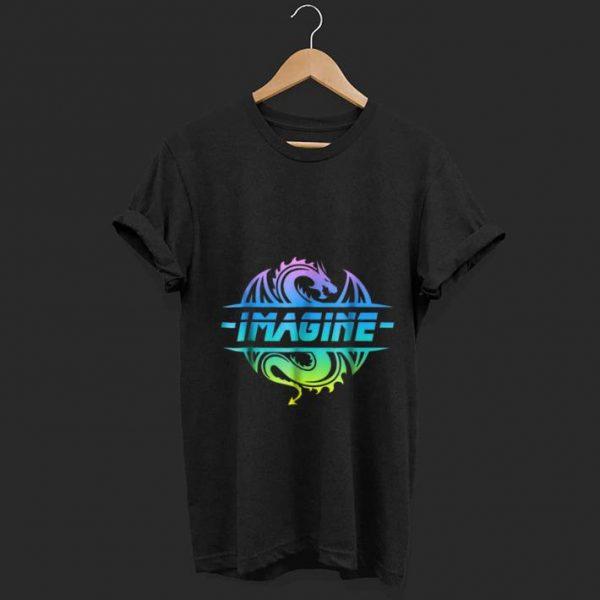 Wonderful Imagine Fantasy Dragon Tattoo Retro shirt