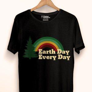 Earth Day Everyday Rainbow Pine Tree shirt