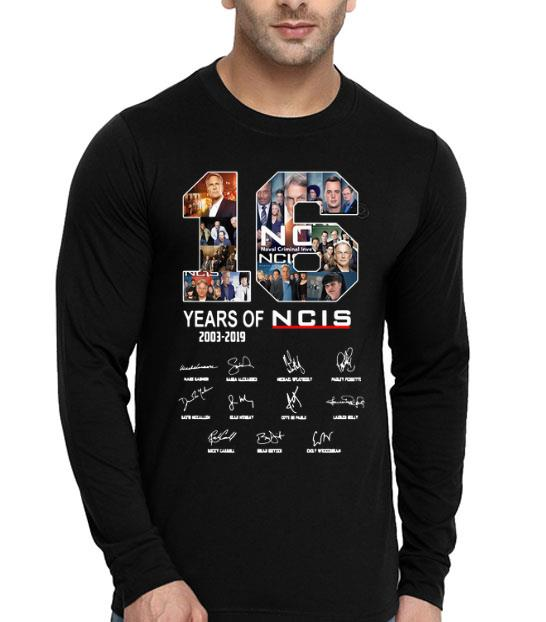16 Years Of NCIS Signature shirt