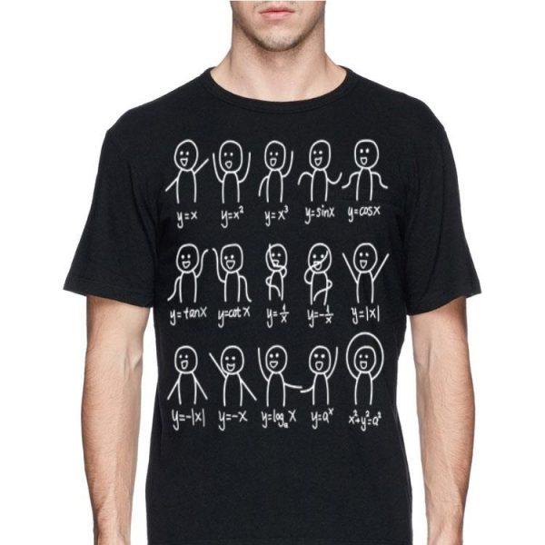 Algebra Dance Graph Figures Math Equation shirt