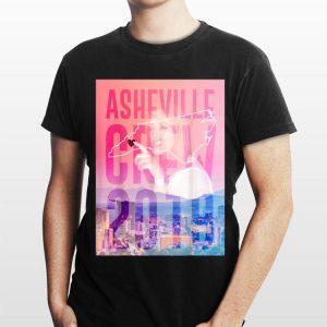 Asheville Crew 2019 Side Piece Action shirt