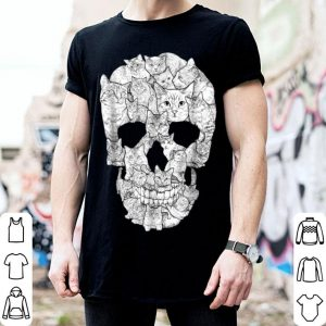 Awesome Cat Skull - Kitty Skeleton Halloween Costume Idea shirt