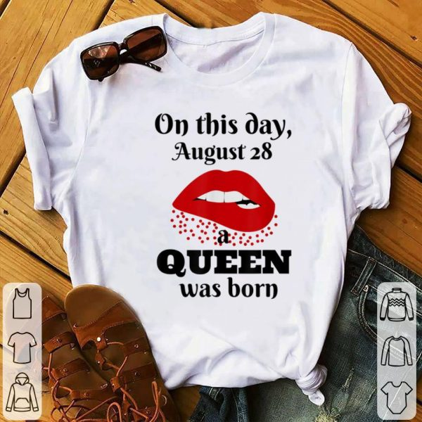 Awesome On This Day August 28 A Ween Was Born shirt