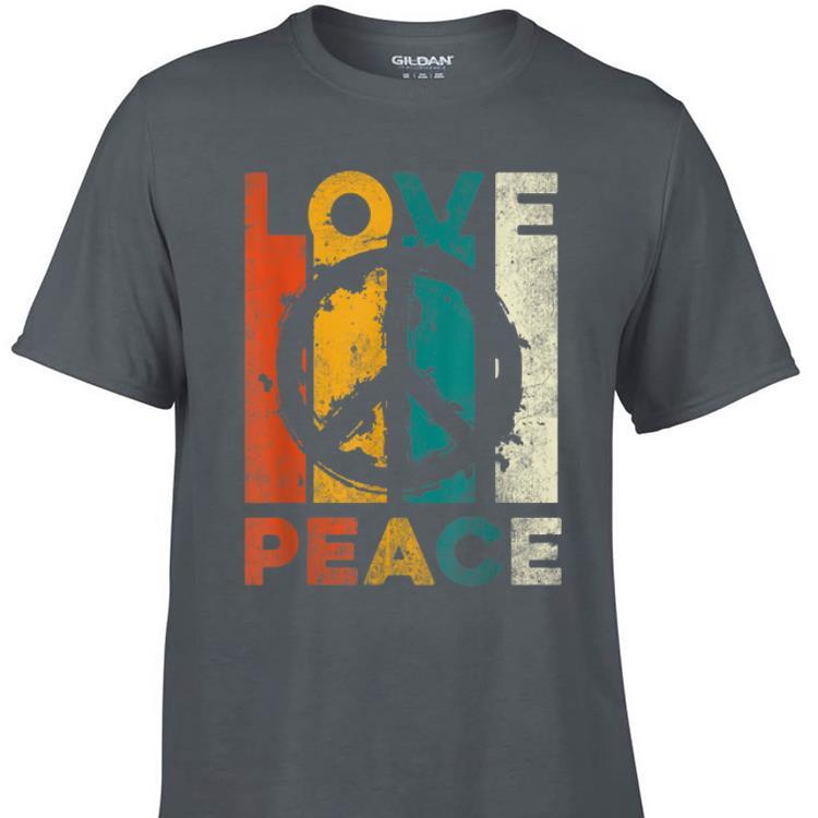 Awesome Vintage Love Peace shirt 1 - Awesome Vintage Love Peace shirt