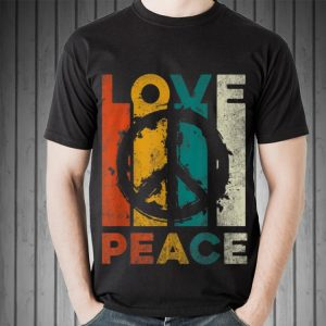 Awesome Vintage Love Peace shirt 1