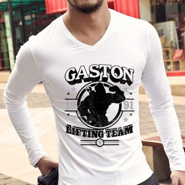Disney Beauty And The Beast Gaston Lifting Team shirt