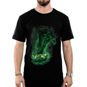 Disney Lion King Scar Green Smoke shirt