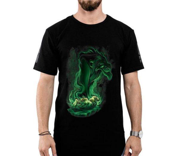 Disney Lion King Scar Green Smoke shirt