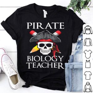 Funny Biology Teacher Halloween Party Costume Gift shirt