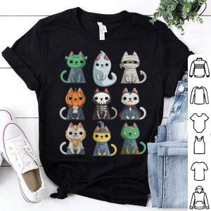 Funny Cute Cat Halloween Funny Halloween Gift shirt