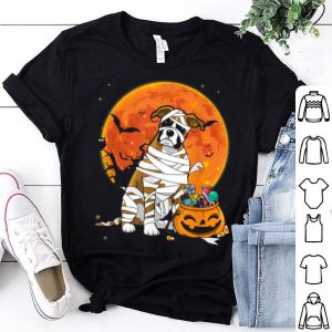 Nice Boxer Dog With Candy Pumpkin Halloween Gifts shirt