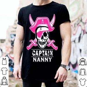 Nice Captain Nanny Pirate Halloween shirt