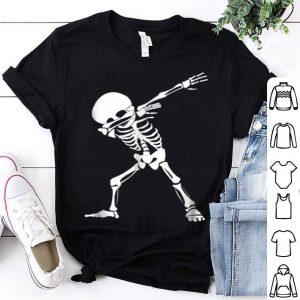 Nice Dabbing Skeleton - Funny Halloween Dab Skull shirt
