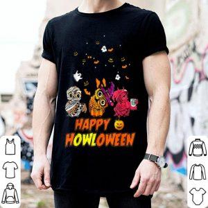 Nice Happy Owloween Halloween Owl Pumpkin Wicth shirt
