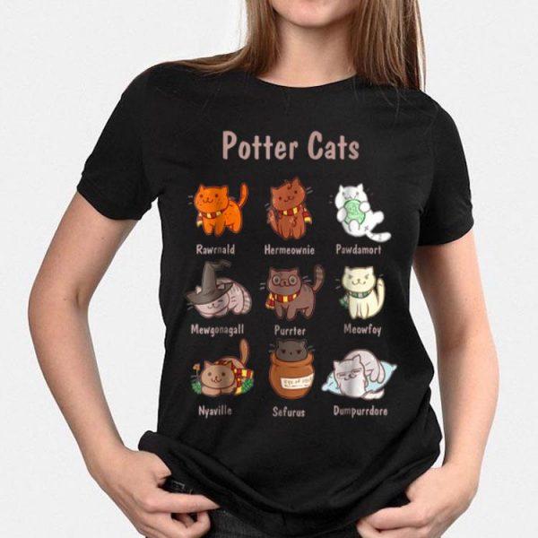 Potter Cat shirt