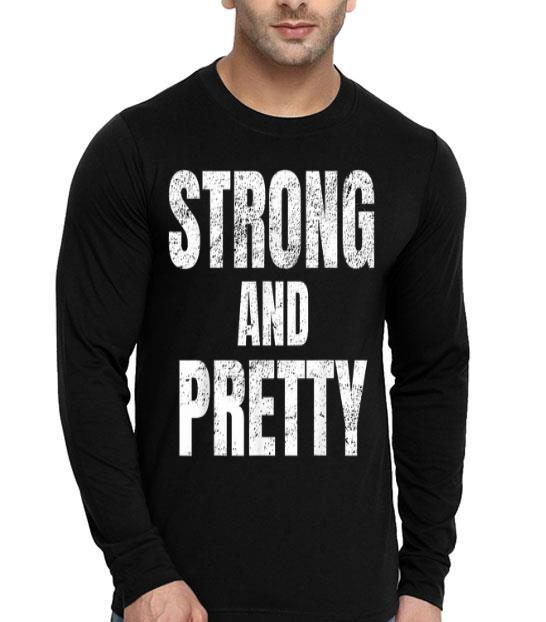 Strong And Pretty Memes Strongman Gym shirt