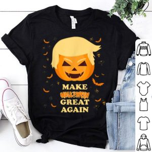 Top Make Halloween Great Again Trump Pumpkin Trumpkin shirt