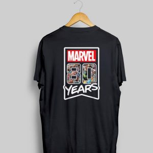 Awesome Marvel 80 Years of Comics Anniversary shirt