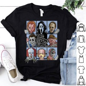 Awesome Spooky The Psycho Bunch Serial Killer Halloween Horror Gift shirt