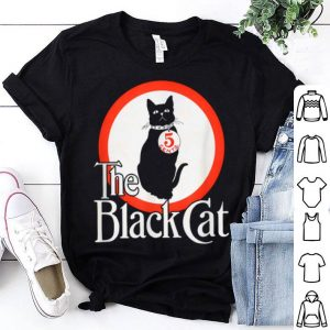 Awesome The Black Cat Magazine Halloween Cat With Collar 5 Cents shirt