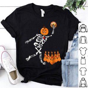Beautiful Bowling Skeleton Bone Halloween shirt