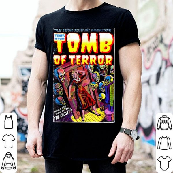 Beautiful Tomb of Terror #11 Horror Comic Book Cover shirt